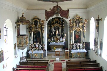 Kirchenburg Kinding Altar