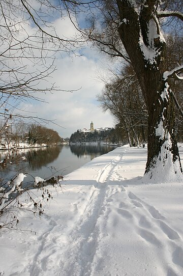 Donau im Winter